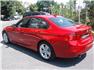 Kırmızı BMW 3.20 Dizel Sol Arka Görünüm