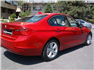 Kırmızı BMW 3.20 Dizel Sağ Arka Görünüm