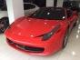 Kırmızı Ferrari 458 Italia