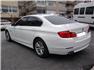 2012 Beyaz BMW 5.20 Dizel Sol Arka Görünüm