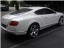 Beyaz Bentley Continental Arka Sağdan Görünüm