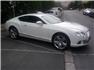 Beyaz Bentley Continental Sağ Önden Görünüm