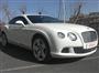 Beyaz Bentley Continental Sağ Ön Görünüm