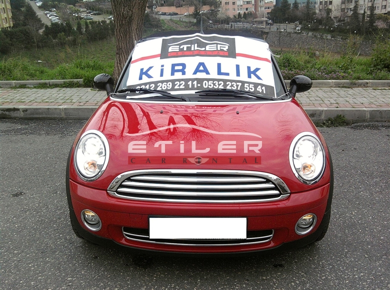 Mini cooper countryman kiralama for Cooper rentals