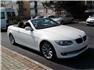 Beyaz BMW 3.20 Dizel Cabrio Sağ Ön Görünüm