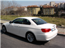 Beyaz BMW 3.20 Dizel Cabrio Sol Arka Görünüm