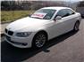 Beyaz BMW 3.20 Dizel Cabrio Sol Ön Görünüm