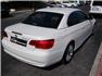 Beyaz BMW 3.20 Dizel Cabrio Sağ Arka Görünüm
