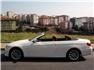 Beyaz BMW 3.20 Dizel Cabrio Sol Görünüm