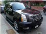 Siyah Cadillac Escalade Sağ Ön Görünüm