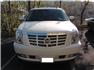 Beyaz Cadillac Escalade Ön Görünüm