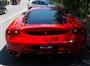 Kırmızı Ferrari F430 Arka Görünüm