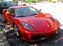Kırmızı Ferrari F430 Sağ Ön Görünüm