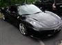Siyah Ferrari F430 Sağ Ön Görünüm
