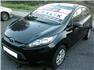 Siyah Ford Fiesta Sol Ön Görünüm