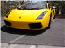 2006 Sarı Lamborghini Gallardo Ön Görünüm