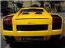 2006 Sarı Lamborghini Gallardo Arka Görünüm