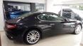 Siyah Maserati GranTurismo Sol Arka Görünüm