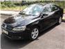 2012 Model Siyah Volkswagen Jetta Sol Ön Görünüm