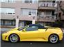Sarı Ferrari F430 F1 Spider Sol Görünüm