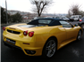 Sarı Ferrari F430 F1 Spider Sol Arka Görünüm