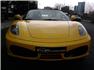 Sarı Ferrari F430 F1 Spider Ön Görünüm