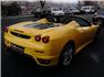 Sarı Ferrari F430 F1 Spider Sağ Arka Görünüm