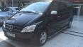 Siyah Mercedes Vito Ön Görünüm